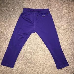 Pretty purple adidas techfit running leggings